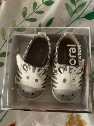 Zapatos cebra bebé MAYORAL nuevos