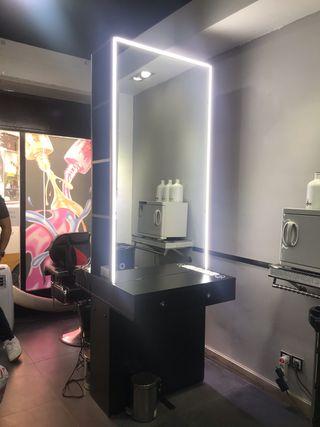 Mueble peluquería