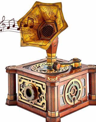 Caja musica puzzle 3D Nuevo