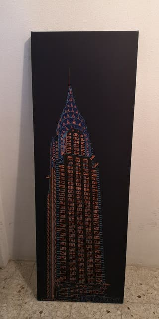 Cuadro torre Chrysler