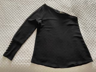 Blusa Bimani 13. Talla S. Negra