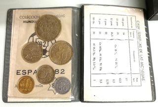 MUNDIAL 82 Conjunto de Monedas, Pesetas