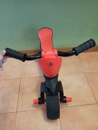 bicicleta sin pedales niño niña
