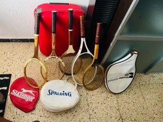 Lote Raquetas de tennis