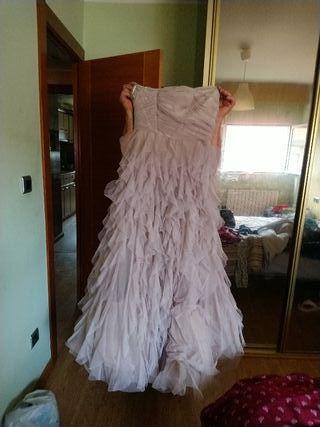 vestido novia naf naf