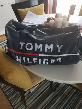 bolsa de deporte o de viaje Tommy en piel