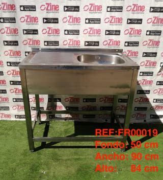 REF:FR00019 Fregadero Inox