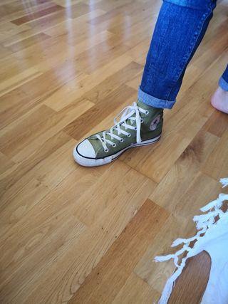 zapatillas Converse seminuevas