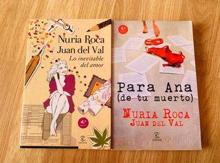Libros NURIA ROCA/JUAN DEL VAL