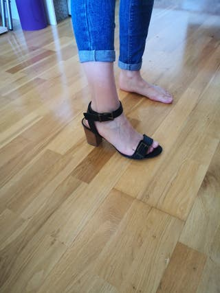 sandalias ASOS negras