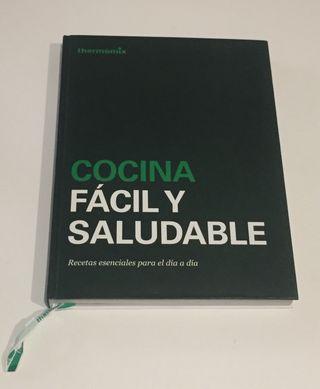 Libro Cocina Fácil y Saludable Thermomix