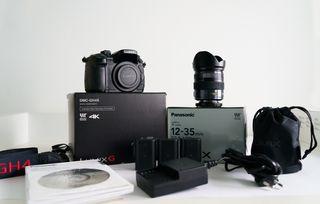 Cámara Panasonic GH4R + Objetivo 12-35 mm F2.8
