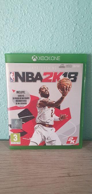 NBA 2K18 xbox one