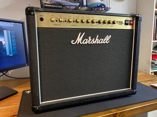 Marshall DSL40C válvulas + pedal footswitch