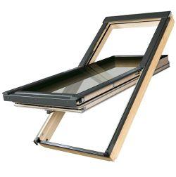 ventana giratoria a estrenar 134x140cm de madera