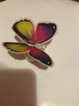 Lucesita de mariposa. Se puede regatear el precio.