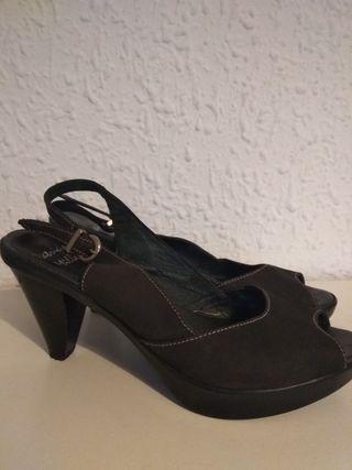 sandalias negras Patricia Miller talla 40
