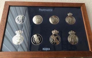 Monedas escudos Real Madrid