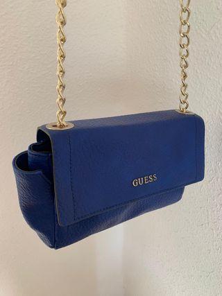 Bolso bandolera GUESS azul klein