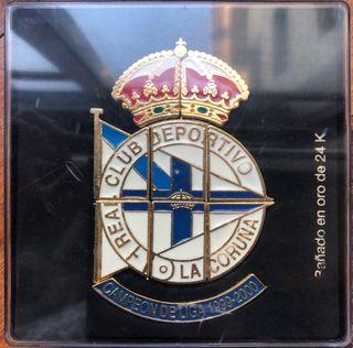 Insignia del R.C Deportivo de la Coruña