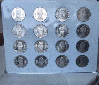 Monedas de plata del Fc Barcelona