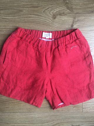 Pantalón corto Nanos t. 5