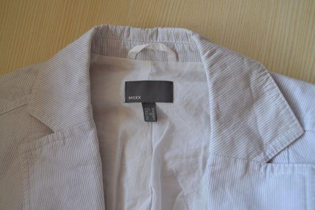 chaqueta americana blanca de marca T.40