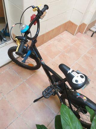 """Bicicleta 16"""" infantil"""