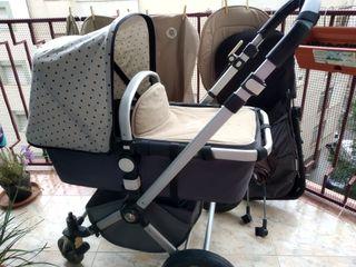 Carrito bebé Bugaboo Camaleon con accesorios