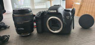 Canon 7D + Ef 17-85 + Speedlite 270Ex