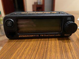 Emisora DYNASCAN P72 2 metros doble b UHF-VHF