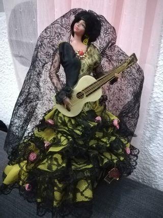 muñeca grain flamenca. azucena