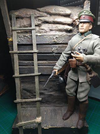 1/6 escala figura soldado aleman ww1