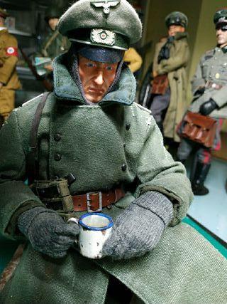 1/6 soldado aleman ww2. custom.