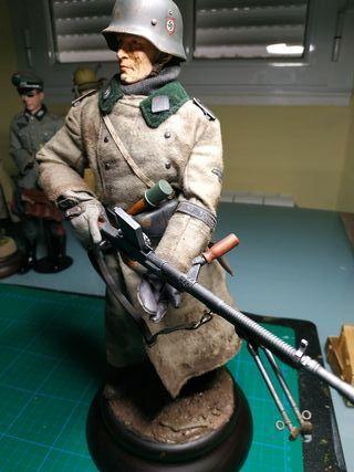 1/6 escala de soldado aleman ww2