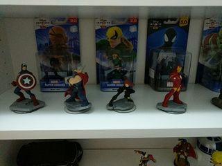 figuras Disney Infinity star wars y marvel