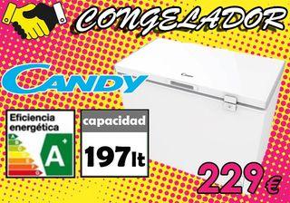 ARCÓN CONGELADOR CANDY 197 LITROS