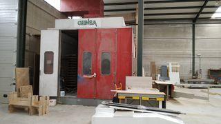cabina de pintura