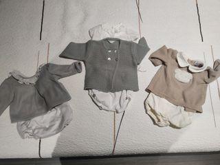 ropa bebe 0,1 y 3 meses