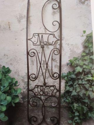 reja forja decoracion balcon