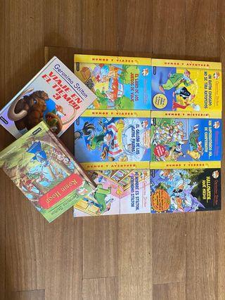 Libros de niño Geronimo Stilton