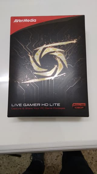 Capturadora video live gamer HD lite