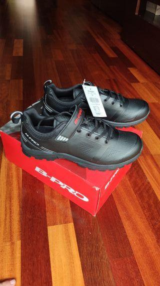 Zapatillas MTB ciclismo,B-PRO. T44