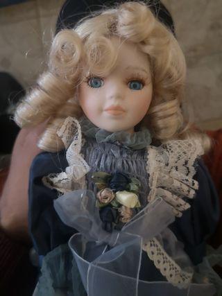 Muñecas de porcelana Coleccion