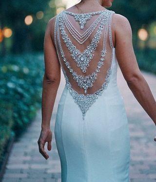 vestido de novia aire de Barcelona