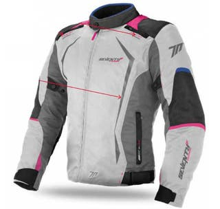 JACKET SD-JR49 WINTER RACING WOMAN ICE BLUE PINK