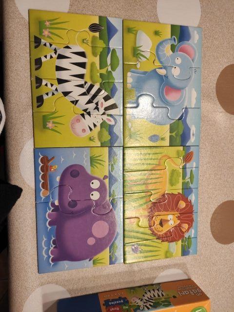 Puzzle animales +18 meses