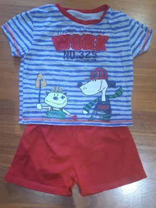 Pijama niño 2 años