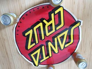 Pegatina gigante Skate Santa Cruz original