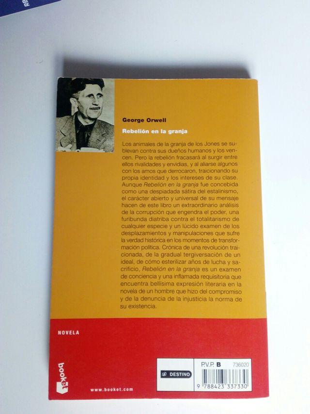 Rebelión en la granja de George Orwell